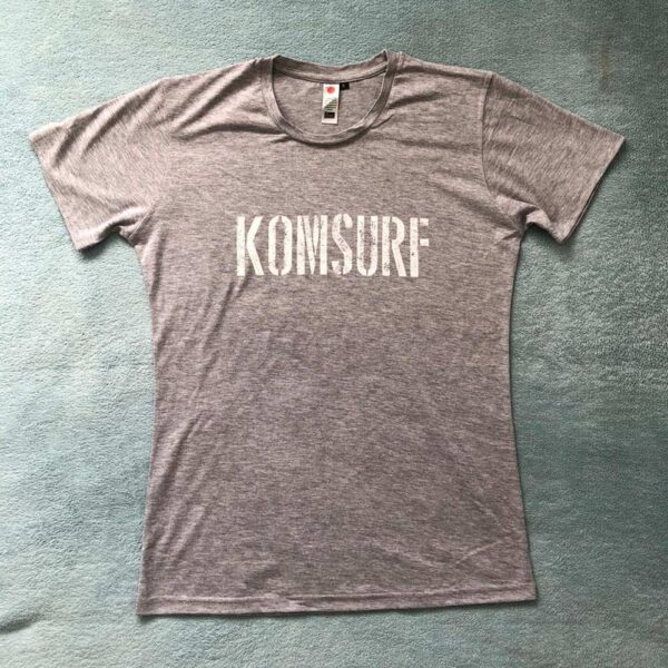 Grey Original Tee by Komsurf