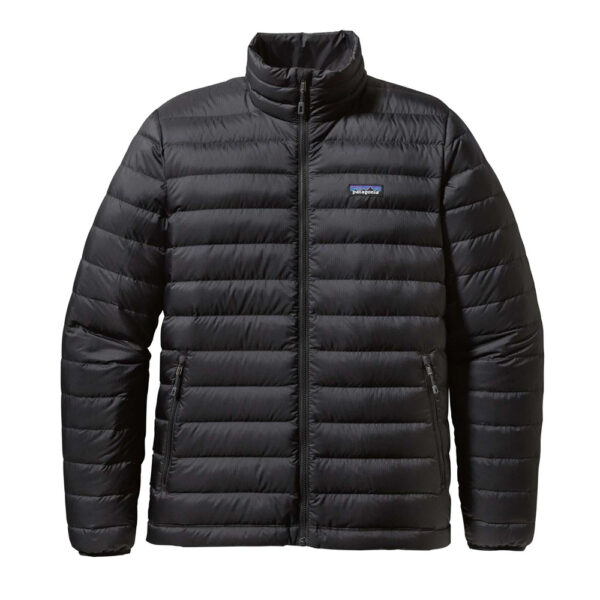 Mens Down Sweater by Patagonia | black