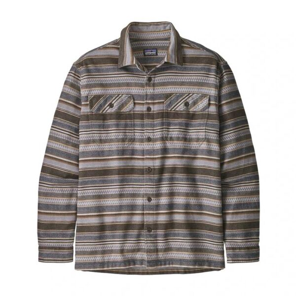 Fjord Flannel Shirt by Patagonia | Bristle Brown