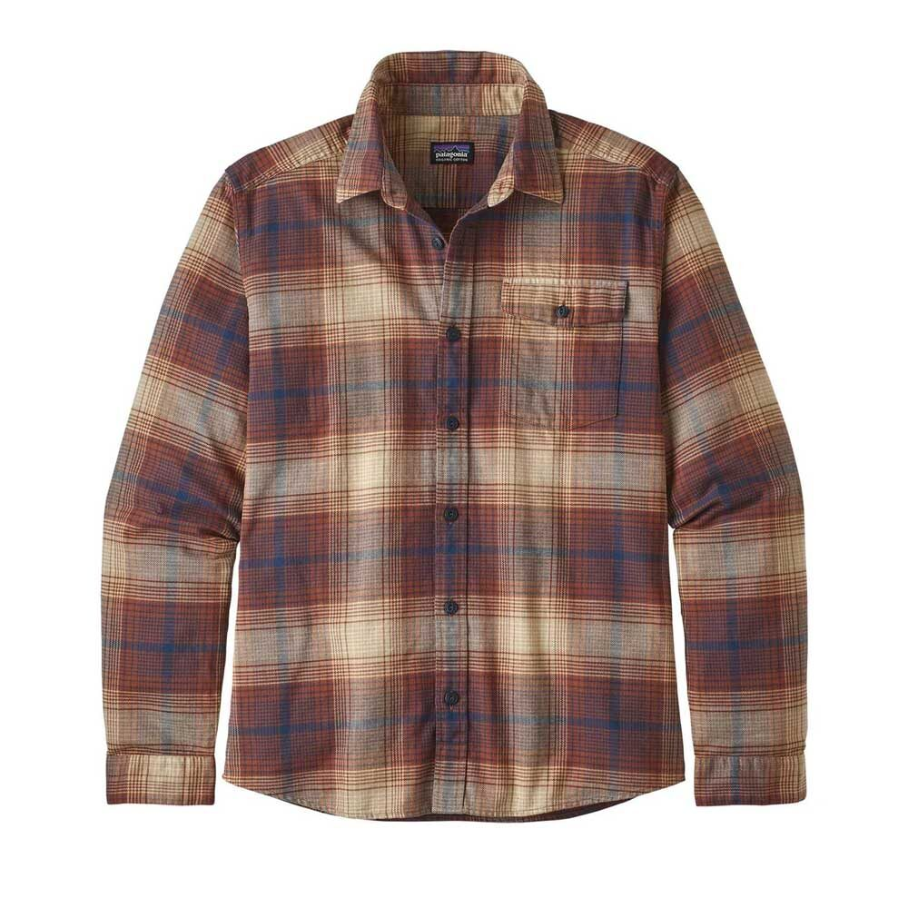 Mens Fjord Lightweight Flannel Shirt by Patagonia